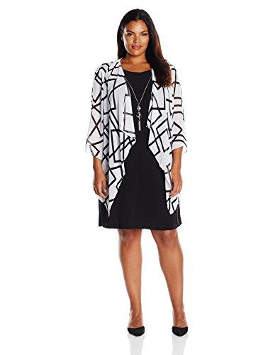 Mock Jacket Dress - 2