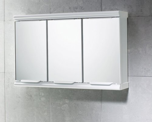 Gedy 3 Door Mirror Bathroom Cabinet