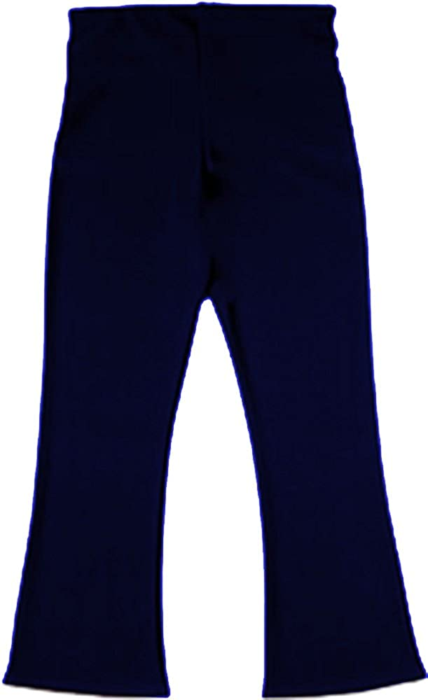 School Uniform Elastic Back 2 Pocket Bootleg Trouser