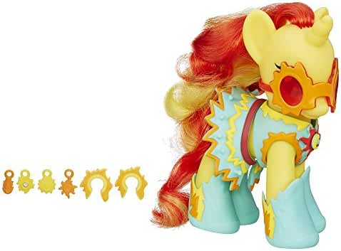 My Little Pony Princess Cutie Mark Magic Fashion Style Sunset Shimmer Figure