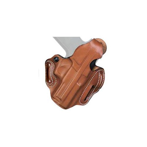 DeSantis Thumb Break Scabbard Holster for S&W M&P Shield Gun, Right Hand, Tan