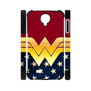 Hipster Wonder Woman Samsung Galaxy S4 I9500 Case Cover Dual-Protective American Flag