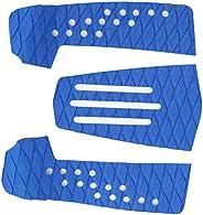 CUTULAMO Almofada de prancha de surfe, 3 peças de almofada de tração para prancha de surfe, à prova de umidade