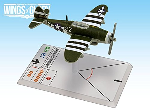 Wings of Glory WW2: Repub P-47D Thunderbolt (Mohrle) for sale  Delivered anywhere in USA