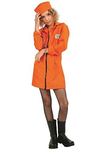 RG Costumes Girls Not Guilty Prisoner Costume (Girl Prisoner Costume)