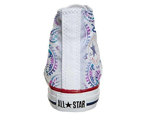 mys Converse All Star Customized - Zapatos Personalizados (Producto Artesano) Watercolor