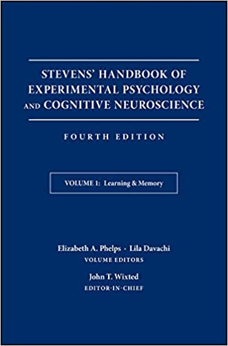 Stevens' Handbook of Experimental Psychology and Cognitive