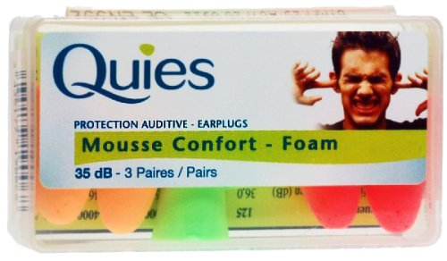 (Quies Protection Auditive - Earplugs 35dB-3 Pairs [Health and Beauty])