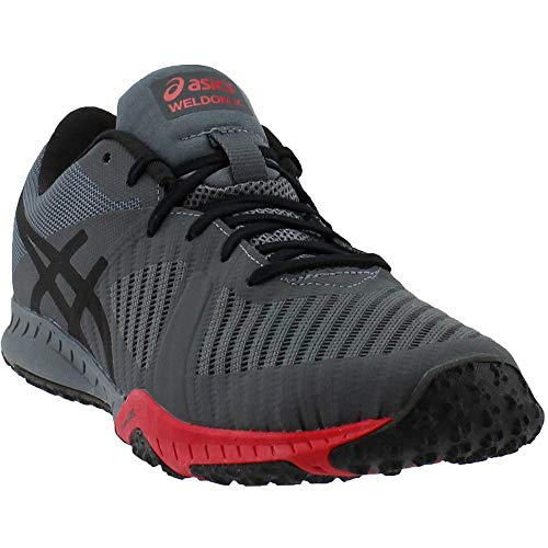 Asics Mens Weldon X Fabric Low Top Lace Up Running Sneaker