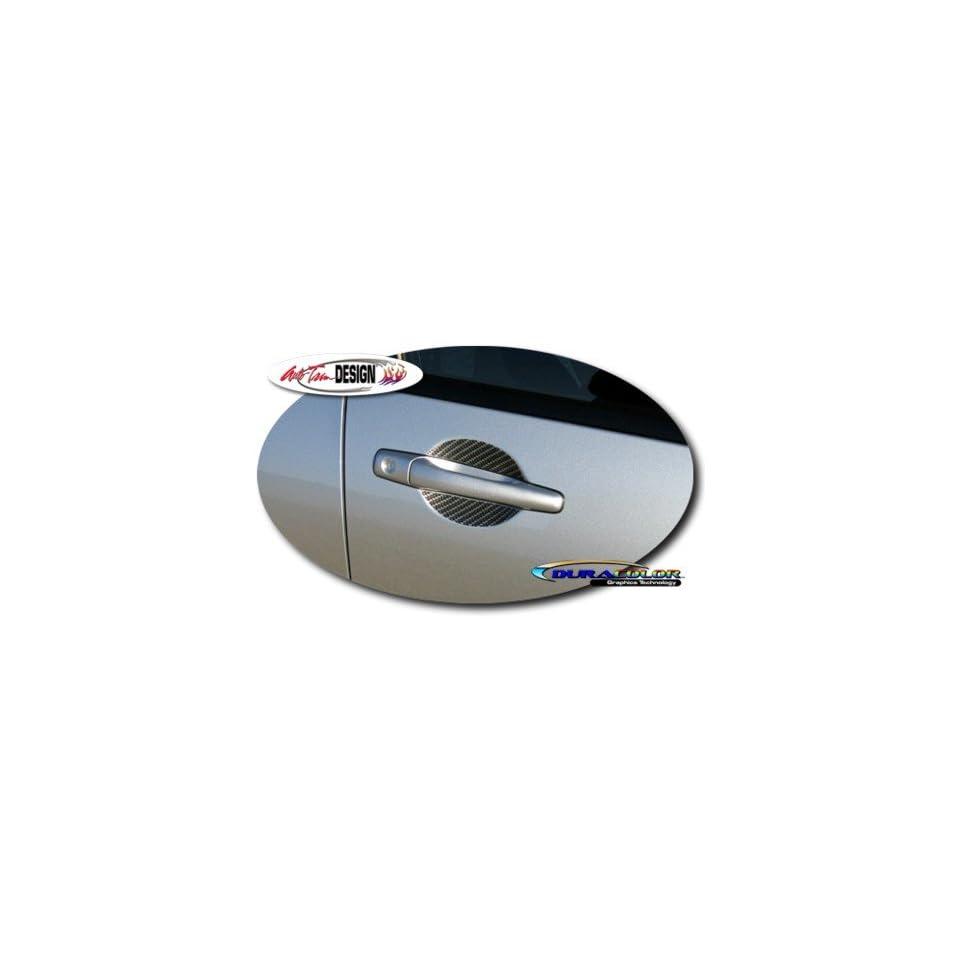 Mitsubishi Lancer & Evolution VIII / IX Simulated Carbon Fiber Door Handle Decal Kit 1