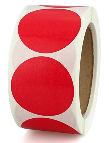 2-red-color-coding-dot-sticker-labels-permanent-adhesive-write-on-surface-500-roll