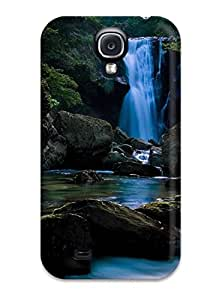 Vicky C. Parker's Shop 4055411K50722859 Hot Design Premium Tpu Case Cover Galaxy S4 Protection Case(earth Waterfall)