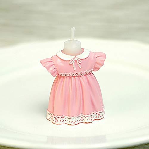 WWWL Creatieve kaars Baby Kleding Kaars Verjaardag Kaarsen Decoratieve Cake Cupcake Topper Craft Kaars voor Verjaardag…