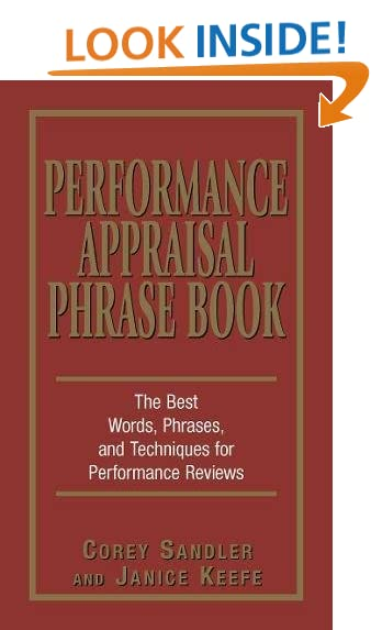 Performance Appraisal Amazoncom