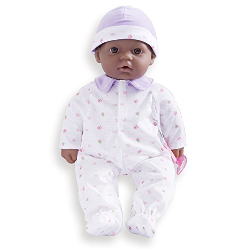 Search : JC Toys, La Baby African American 16-inch Washable Soft Body Purple Play Doll - For Children 2 Years Or Older, Designed by Berenguer