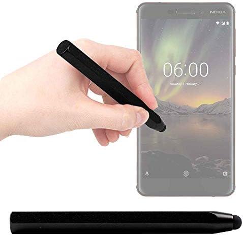 DURAGADGET Lápiz Stylus Negro para Smartphone Nokia 6.1 (2018 ...