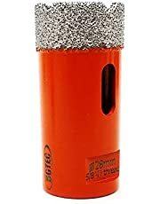 "Dry Diamond Core Drill Bits,BGTEC 1-1/8"" 28mm Diamond Hole Saw for Porcelain Tile,Ceramic Granite Marble Stone Masonry Brick"