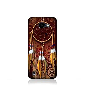LG K4 2016 TPU Silicone Case with American Feathers Design