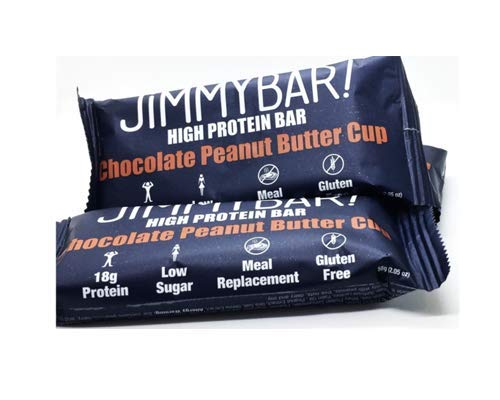 Peanut Swirl Chocolate Butter (JiMMYBAR! CLEAN Protein Chocolate Peanut Butter Cup, 12 Count )