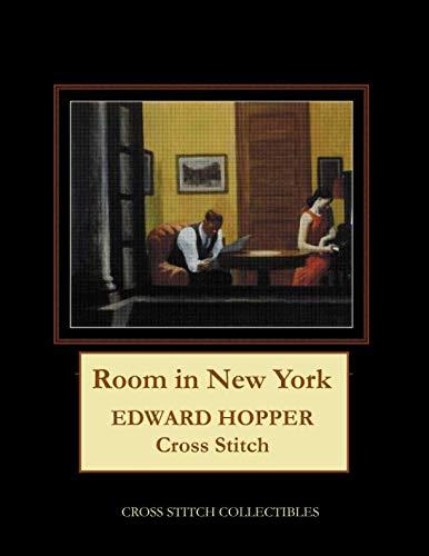 Room in New York: Edward Hopper cross stitch ()