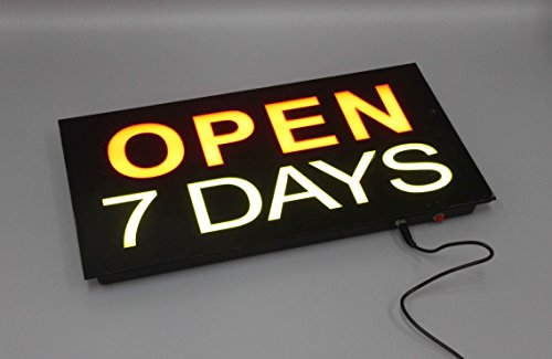 FixtureDisplays LED Illuminated Sign with