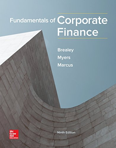 (Fundamentals of Corporate Finance (Mcgraw-hill/Irwin Series in Finance, Insurance, and Real Estate))