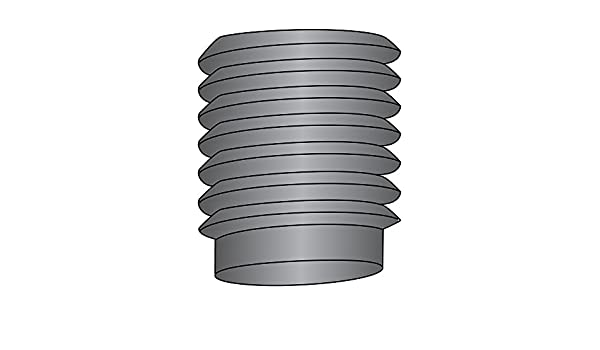 Half Dog Point 1//4-20 Thread Size Black Oxide Finish Pack of 100 Alloy Steel Set Screw Hex Socket Drive US Made Meets ASME B18.3 5//8 Length
