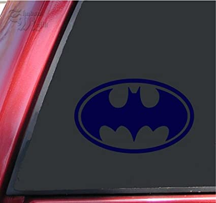 Amazon Batman Bat Symbol Vinyl Decal Sticker 6 X 38 Dark