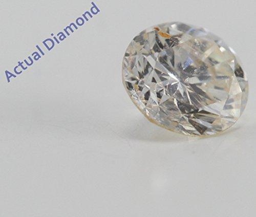 Diamant Rond taillés (0.47 Ct, I Couleur,I1(Clarté accrue) Clarté)