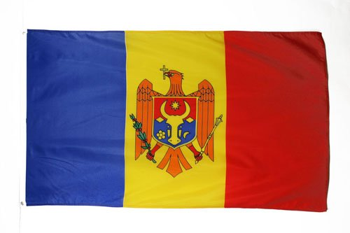 MOLDOVA FLAG 3' x 5' - MOLDOVAN FLAGS 90 x 150 cm - BANNER 3x5 ft - AZ FLAG