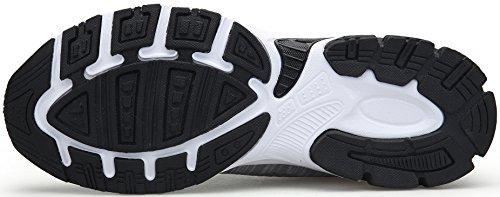 Koudyen Ginnastica Uomo Basse Scarpe Unisex Running Corsa Donna Sportive Casual Da Fitness Grigio Sneakers r4wqrxR1t