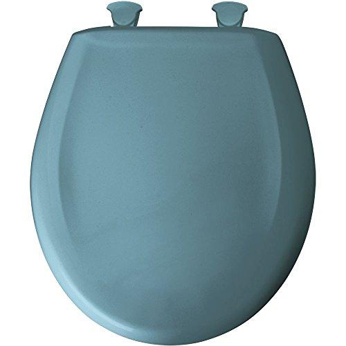 Bemis 200SLOWT 064 Round Closed Front Toilet Seat, Regenc...