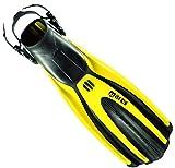 Mares Avanti Super-Channel Open Heel Fins - Yellow - X-Large