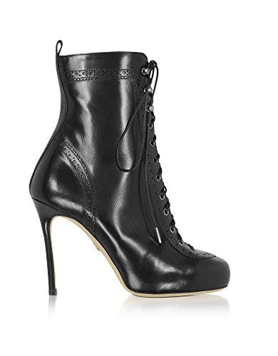 Dsquared2 Women's W17J2080152124 Black Leather Ankle Boots GGl53lSLSj