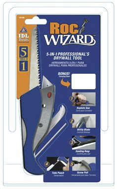 Ace Roc-Wizard 5-In-1 Professional Drywall Tool (UT5000-ACE) - Saw Drywall Edge