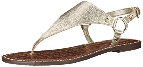 (Sam Edelman Women's Greta Sandal, Jute Metallic Leather, 8.5 M US)