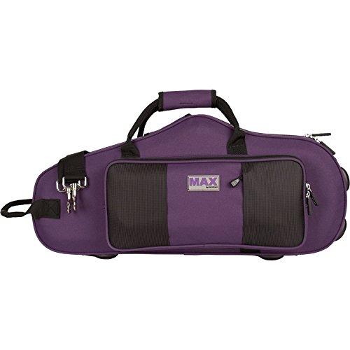 Protec MX304CTPR Alto Saxophone Contoured MAX Case, Purple (Protec Contoured Trumpet)