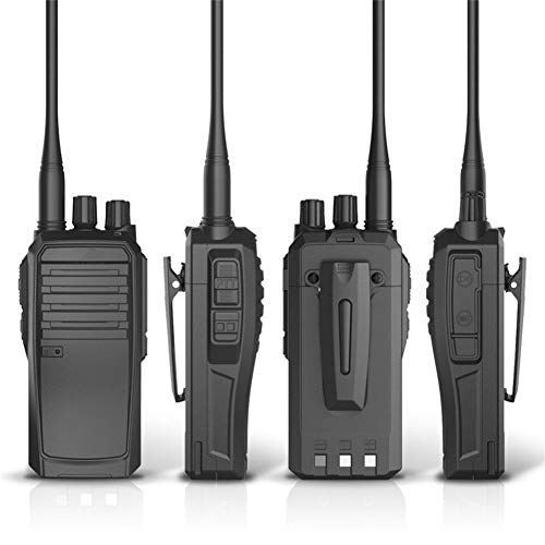 HDJ Talkie Walkie,15 Days Standby Profession Rechargeable Engineering Outdoor 15 Km Interphone (Black, 1 Pair) by HDJ (Image #4)