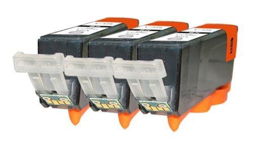3 Pack Compatible Cartridges for Canon PGI-220.