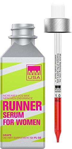 MMUSA RUNNER SERUM FOR WOMEN ENERGY & ENDURANCE FORMULA, 150 ml