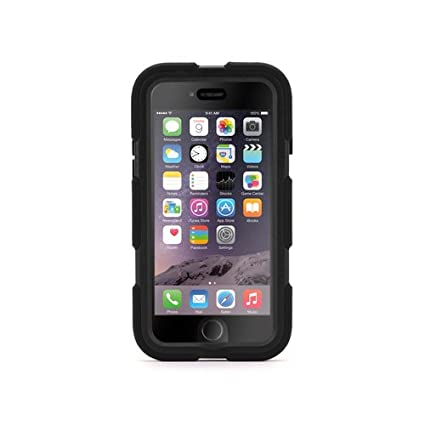 size 40 71cde 0b6d3 Griffin Survivor Case for iPhone 6-Retail Packaging-Black