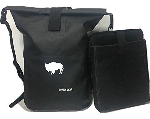 Bovida Gear Rolltop Backpack – 100% Waterproof Dry Bag with Laptop Sleeve b43dda9e2f141
