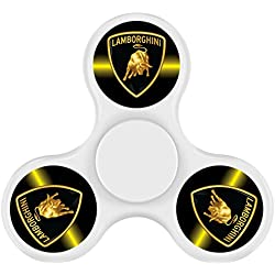 Lamborghini LOGO Fidget Spinner Toy Relieve Stress High Speed Focus Toy for Killing Time