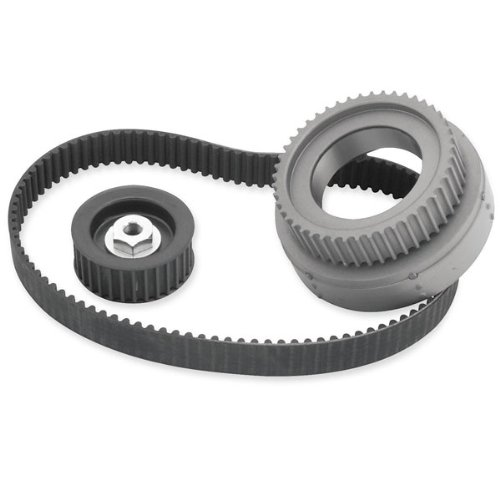 (Belt Drives Ltd. 11mm 1-1/2in. Primary Belt Drive with Idler Bearing for Harley - One)