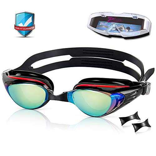 YASEN Swim Goggles for Adults Antifog, Swimming Goggles Anti fog Clear, Anti-fog Uv Protection Swimming Goggles