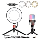 Nugilla LED Ring Light 6' with Tripod Stand for YouTube Video and Live Stream/Makeup,...