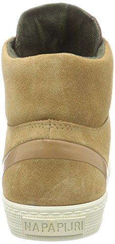 Beige N40 Ellen beige light Donna Sneaker Alta Napapijri Toffee 8RxqI6Uqw