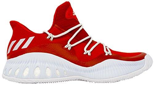 Adidas Crazy Explosieve Lage Heren Basketbal Heren Scarlet-white-mid Grey