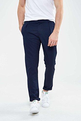 Pantalon John Selected Marine
