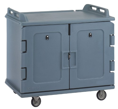 (Cambro - EAMDC1418S20191 - Meal Delivery Cart, 48 1/2x32 1/2x44, Gray )